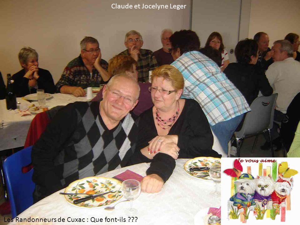Claude et Jocelyne Leger