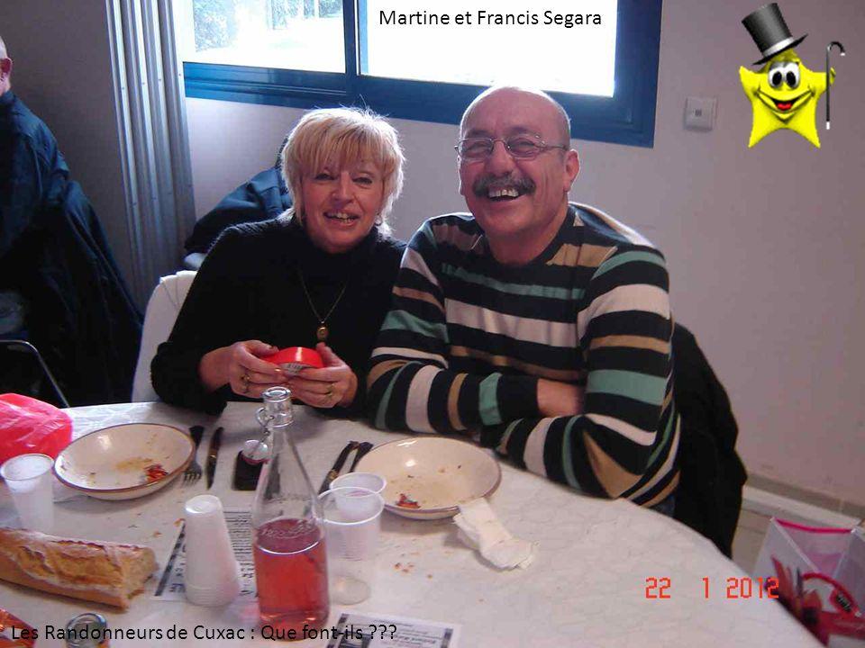 Martine et Francis Segara