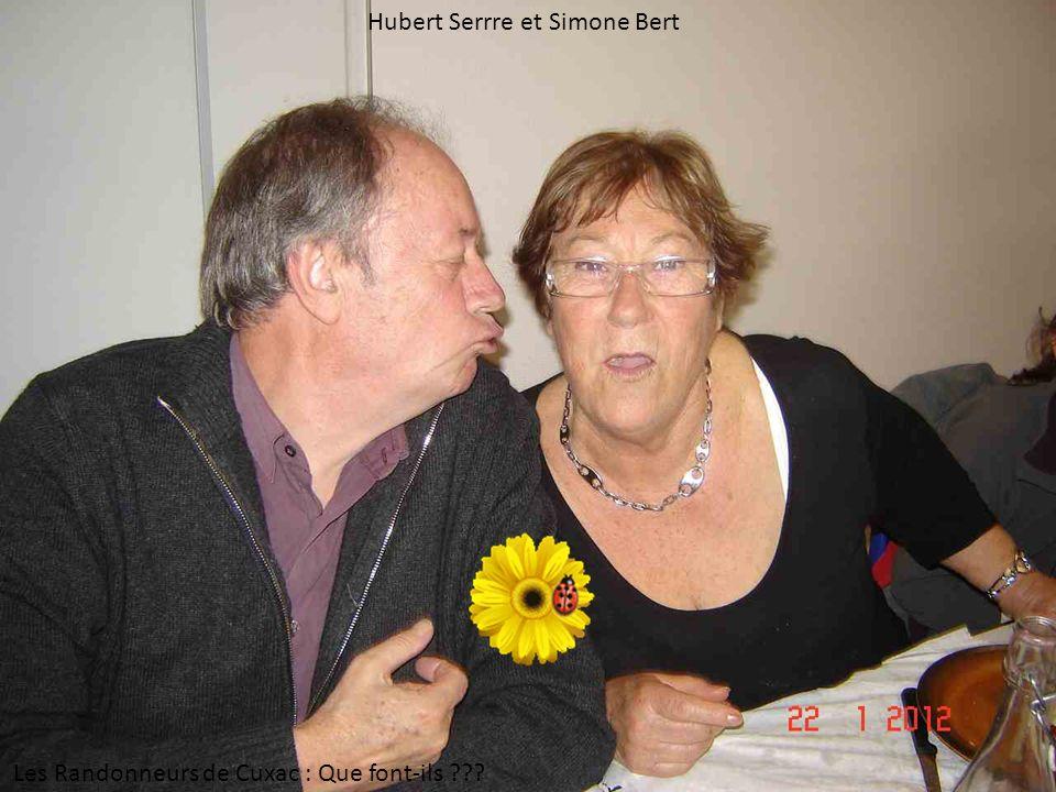 Hubert Serrre et Simone Bert