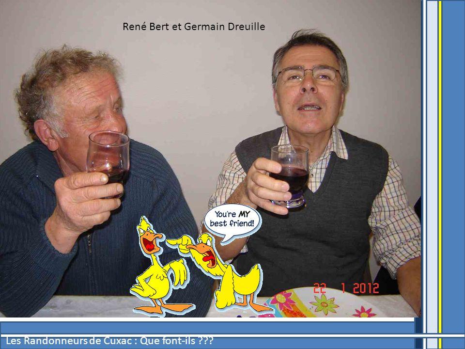 René Bert et Germain Dreuille
