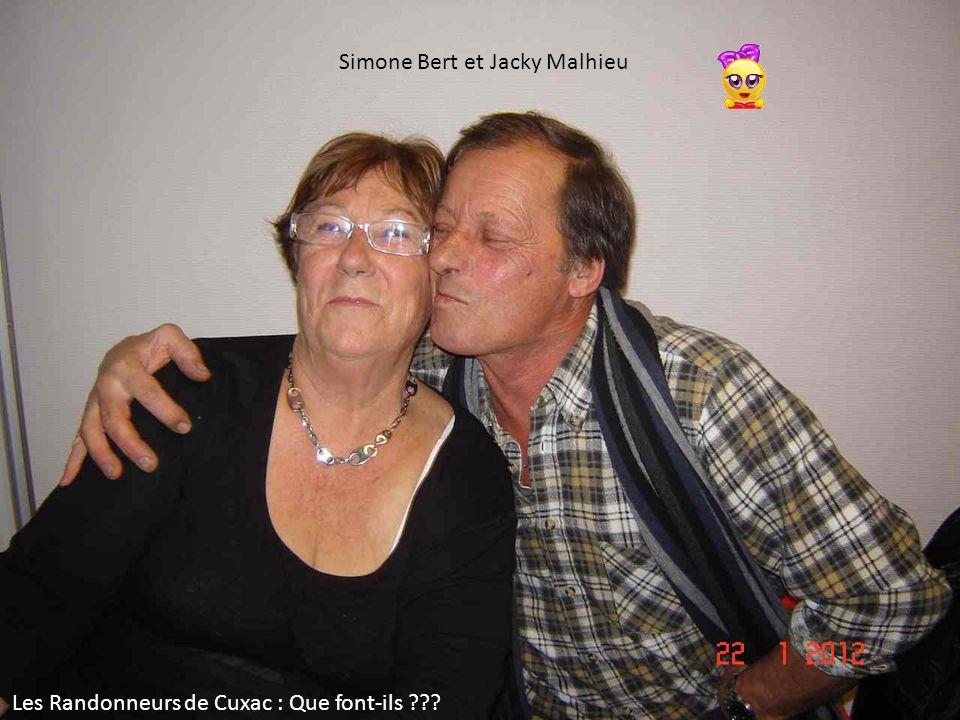 Simone Bert et Jacky Malhieu