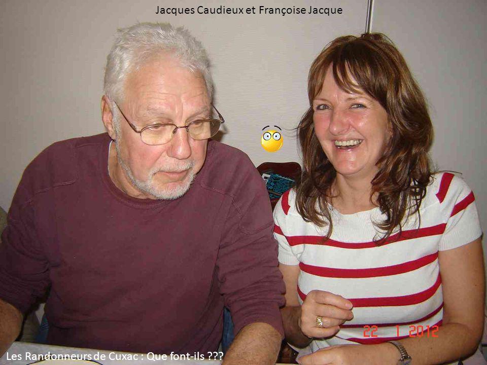 Jacques Caudieux et Françoise Jacque