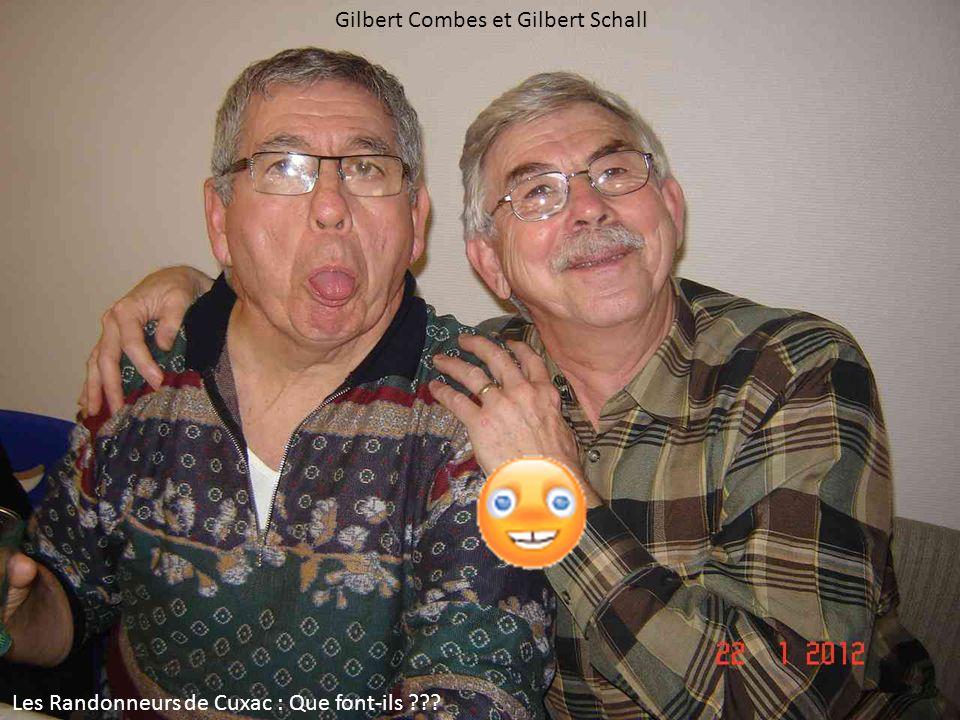 Gilbert Combes et Gilbert Schall