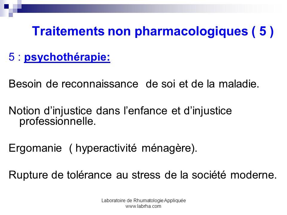 Traitements non pharmacologiques ( 5 )