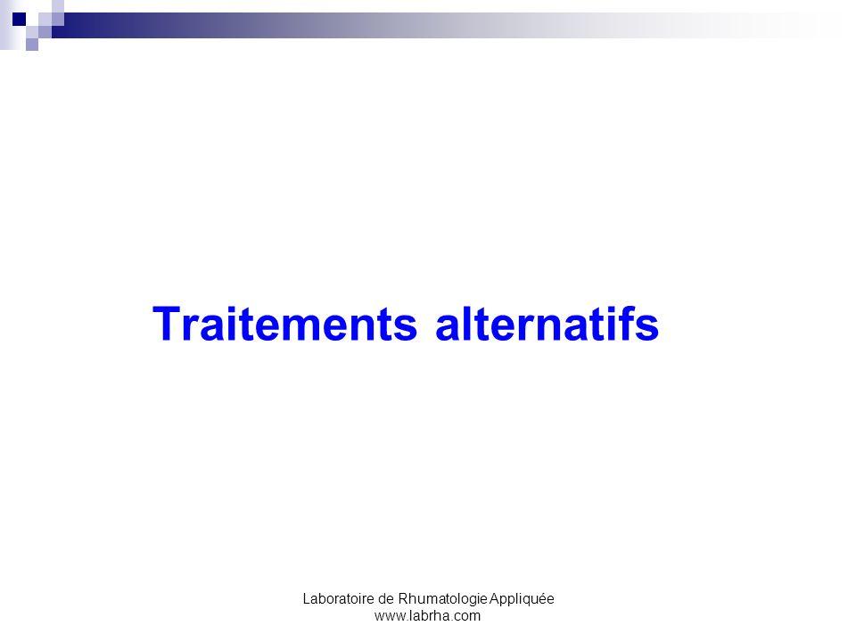 Traitements alternatifs