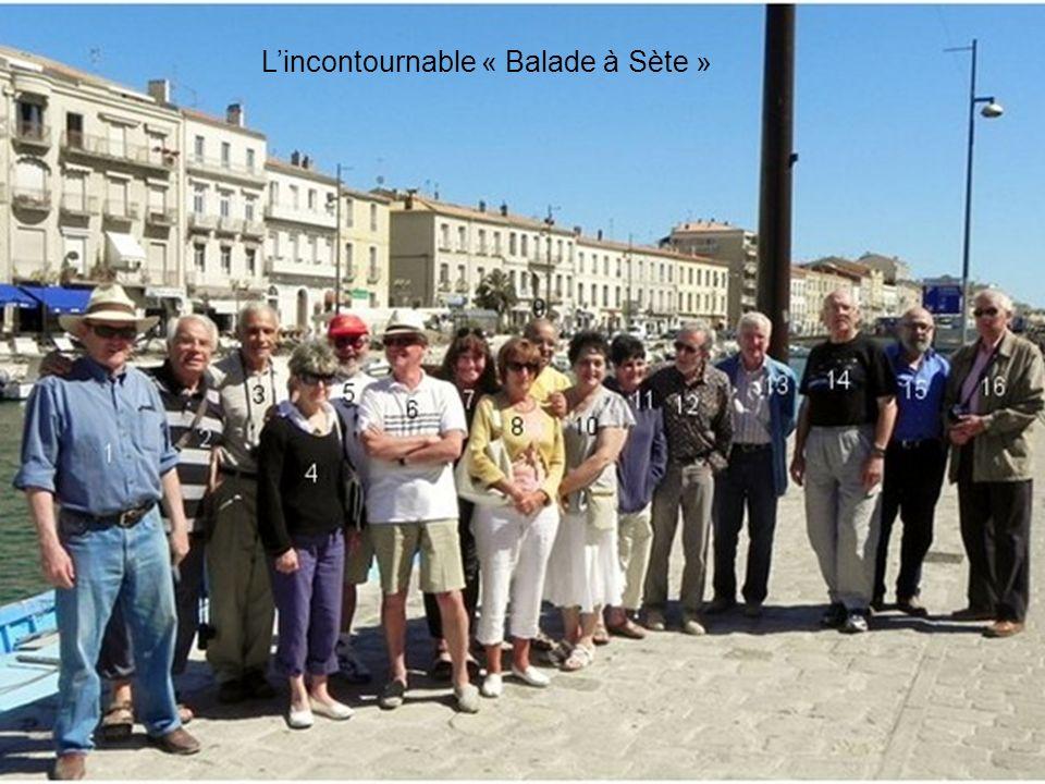 L'incontournable « Balade à Sète »
