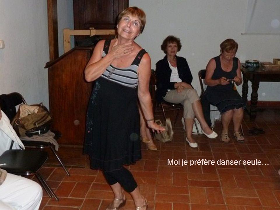 Moi je préfère danser seule…