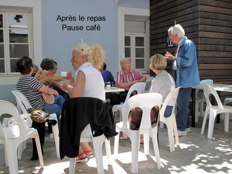 Après le repas Pause café