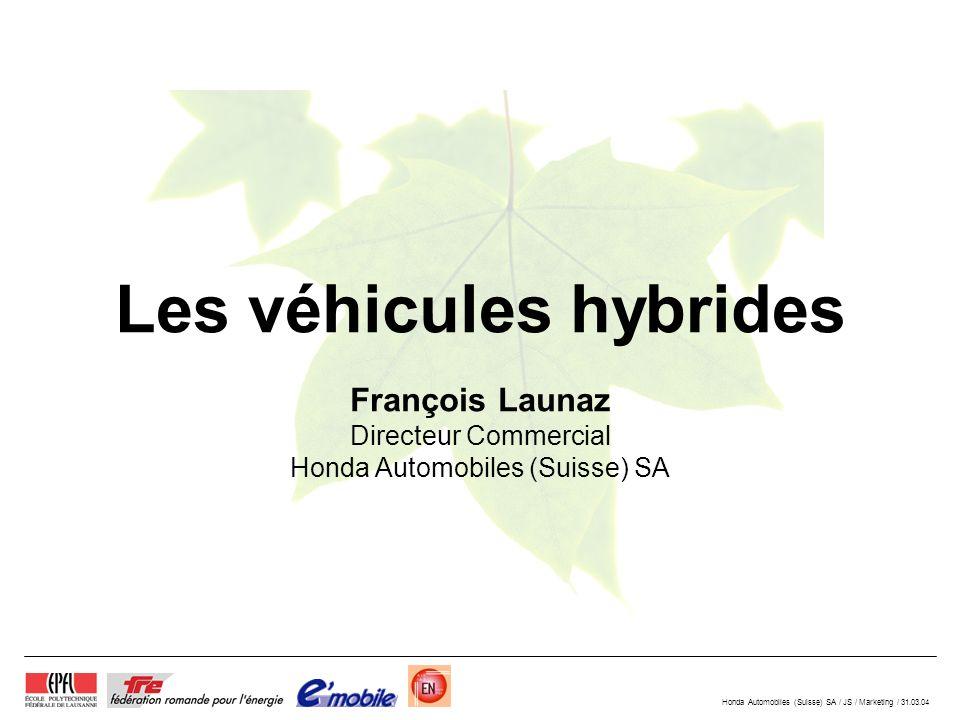 Les véhicules hybrides