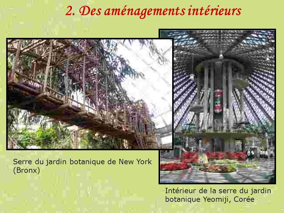 2. Des aménagements intérieurs