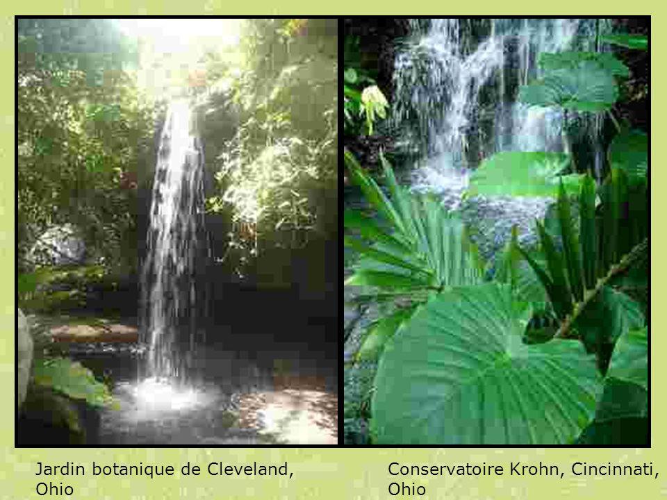 Jardin botanique de Cleveland, Ohio
