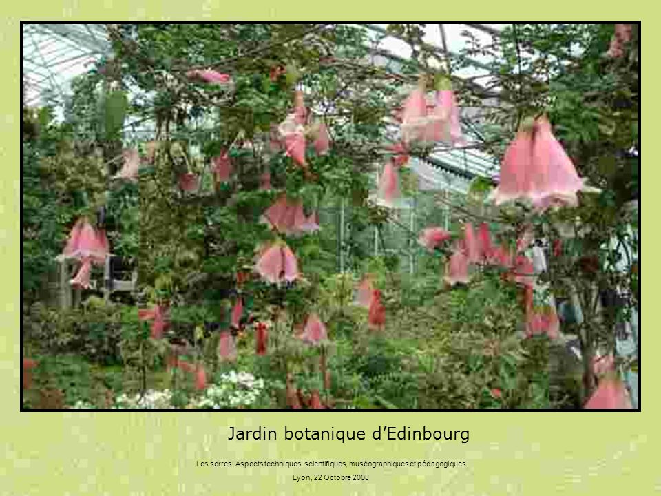 Jardin botanique d'Edinbourg