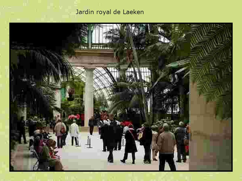 Jardin royal de Laeken