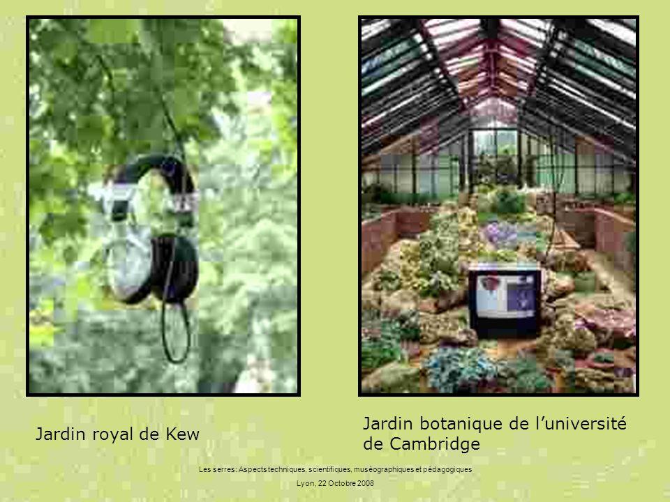 Jardin botanique de l'université de Cambridge Jardin royal de Kew