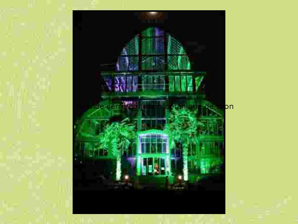 Grande serre du jardin botanique de Lyon