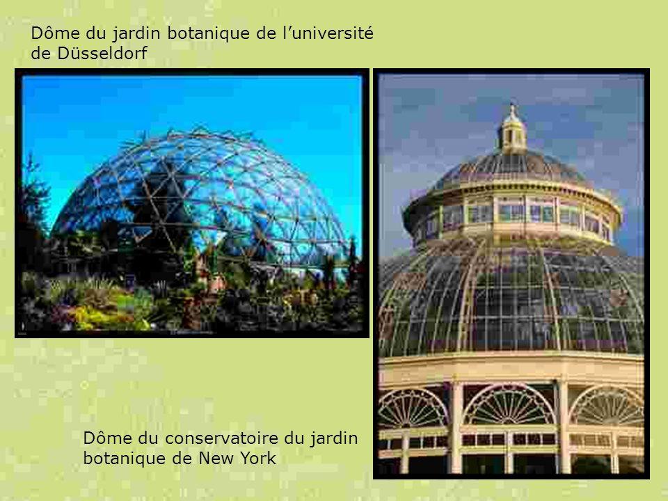 Dôme du jardin botanique de l'université de Düsseldorf