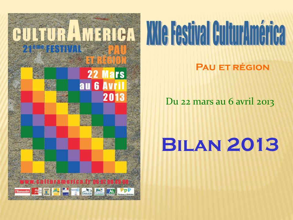 XXIe Festival CulturAmérica