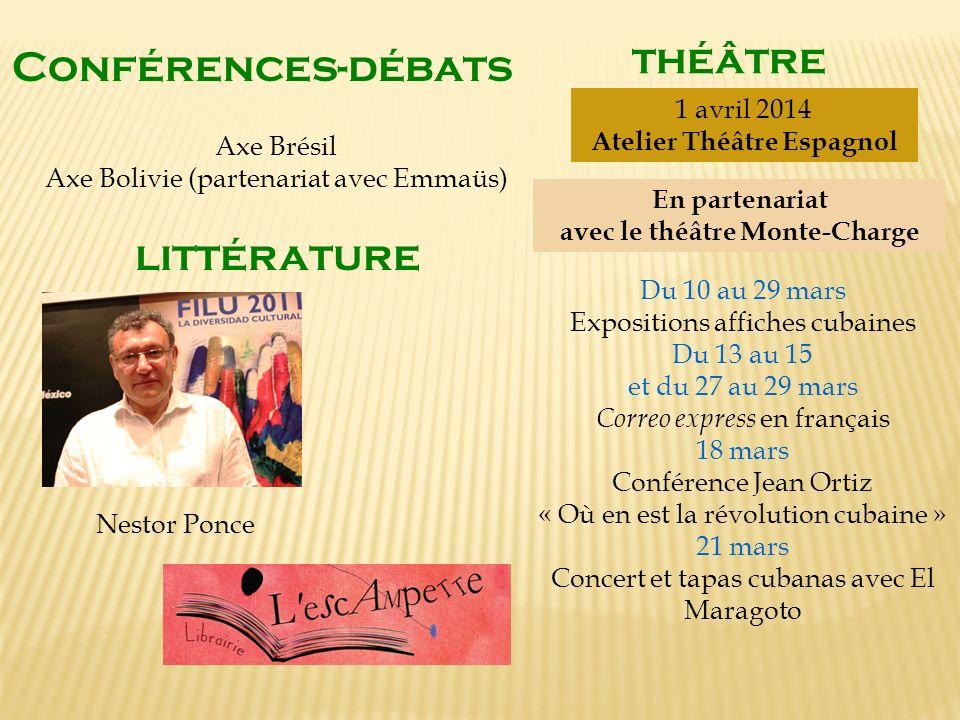 Atelier Théâtre Espagnol avec le théâtre Monte-Charge