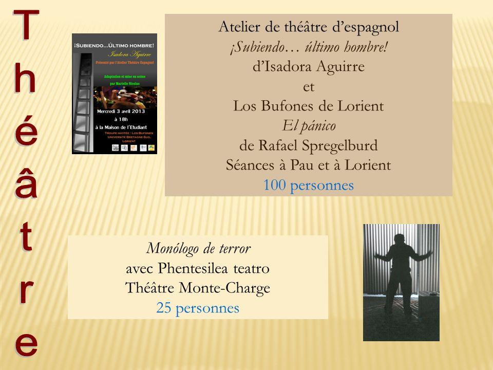 Atelier de théâtre d'espagnol ¡Subiendo… último hombre!