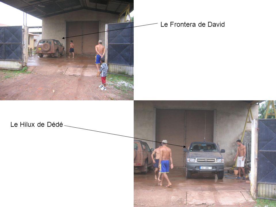Le Frontera de David Le Hilux de Dédé