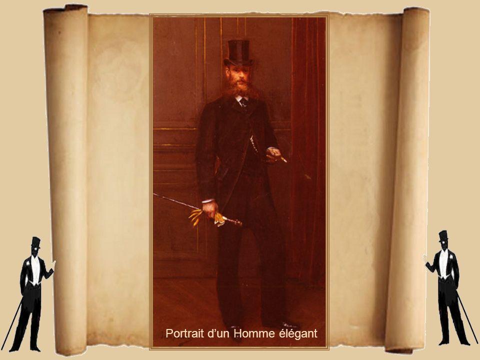 Portrait d'un Homme élégant