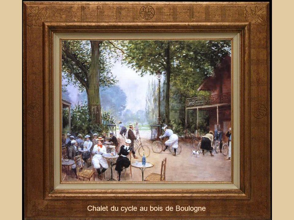 Chalet du cycle au bois de Boulogne