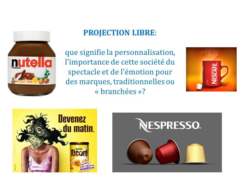 PROJECTION LIBRE: