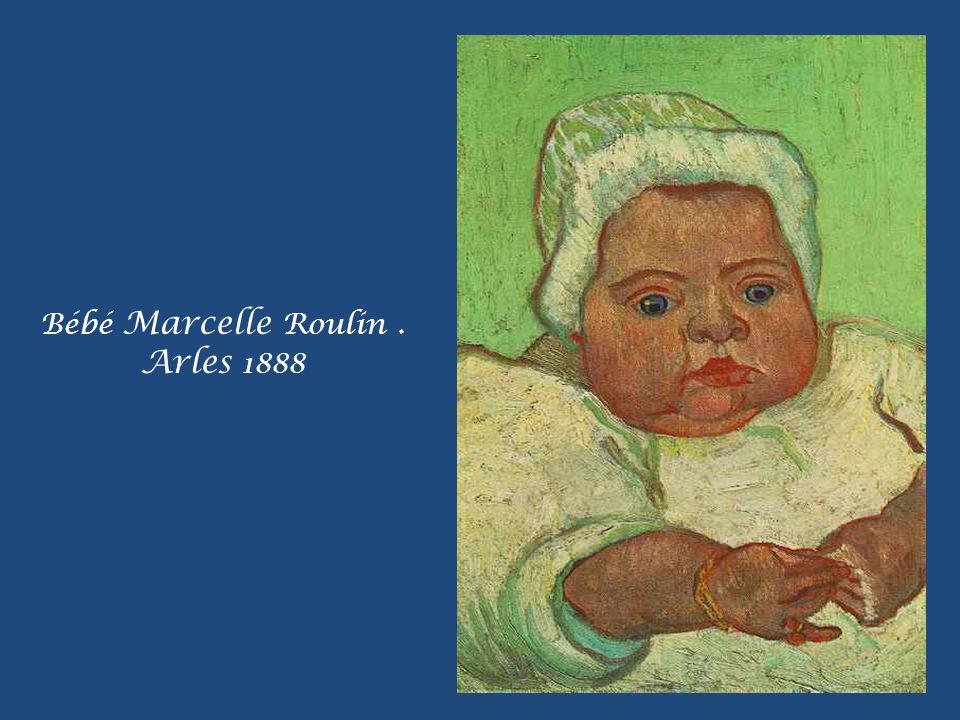 Bébé Marcelle Roulin . Arles 1888