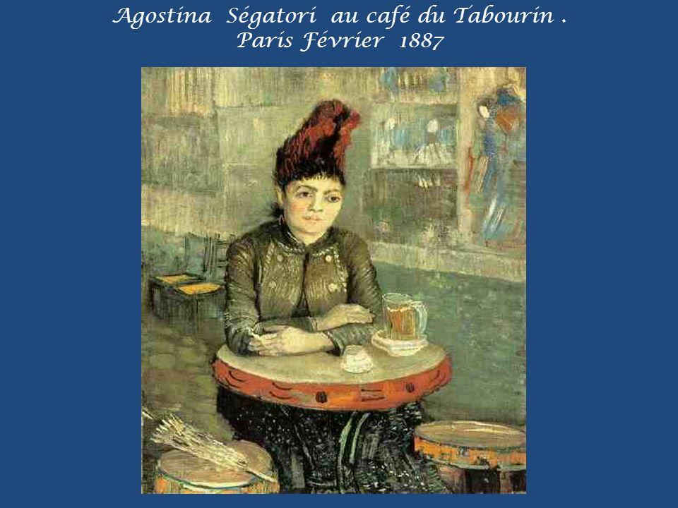 Agostina Ségatori au café du Tabourin . Paris Février 1887