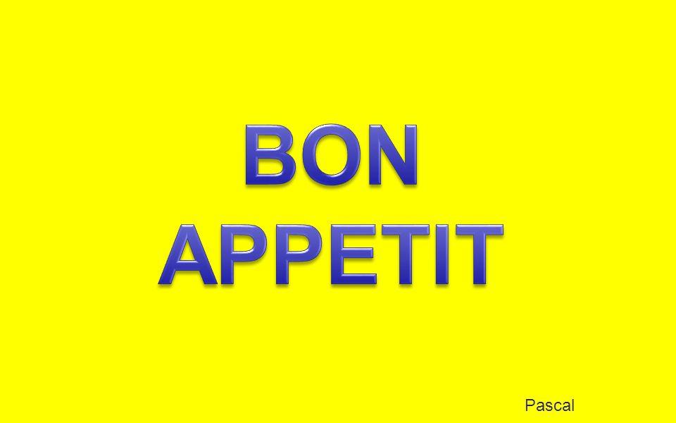 BON APPETIT Pascal