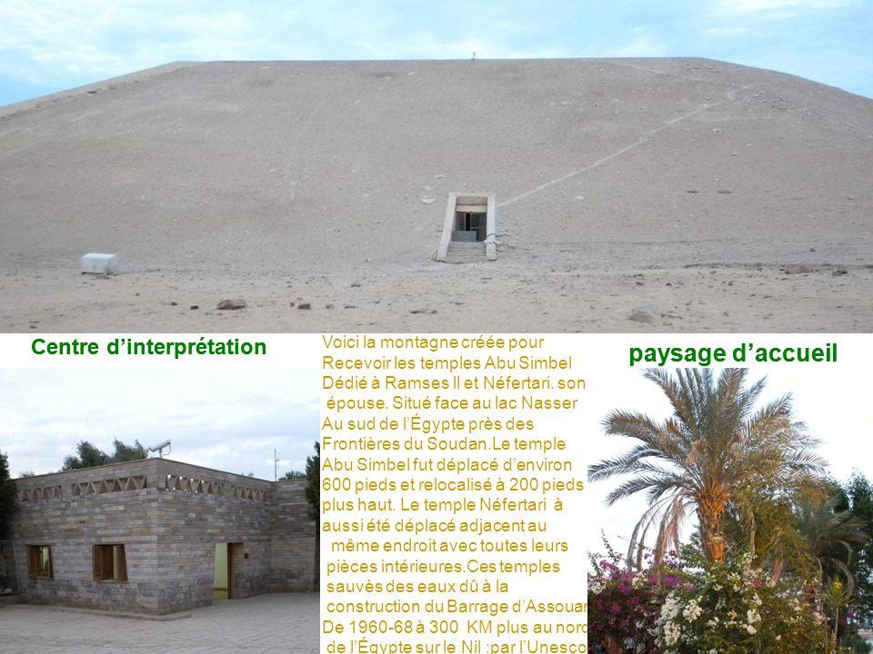 Centre d'interprétation Centre d'interprétation paysage d'accueil