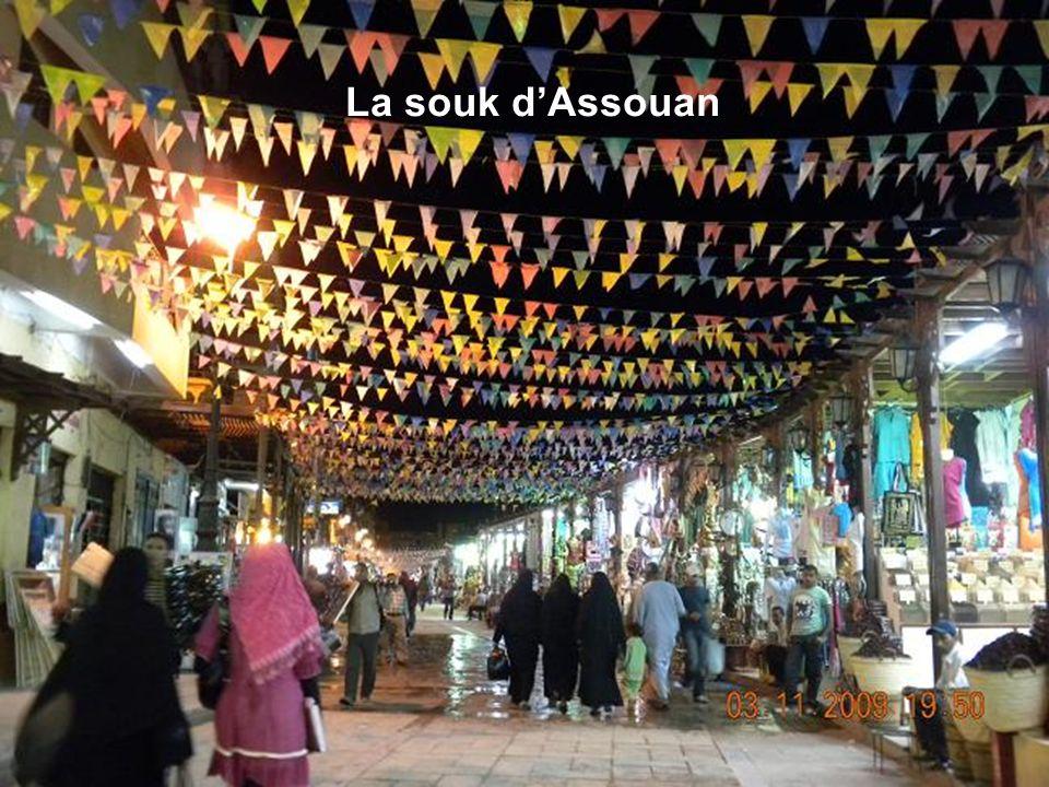 La souk d'Assouan