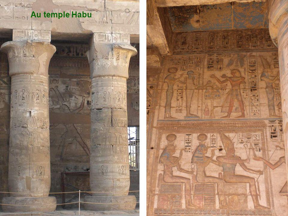Au temple Habu