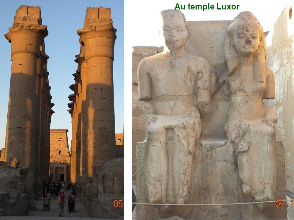Au temple Luxor