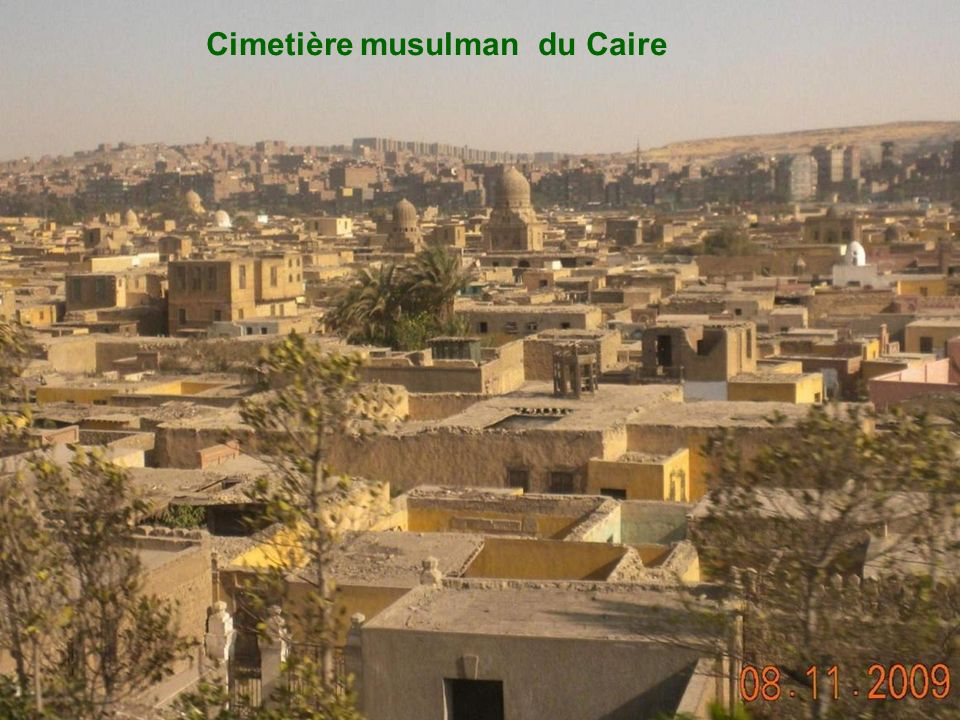 Cimetière musulman du Caire