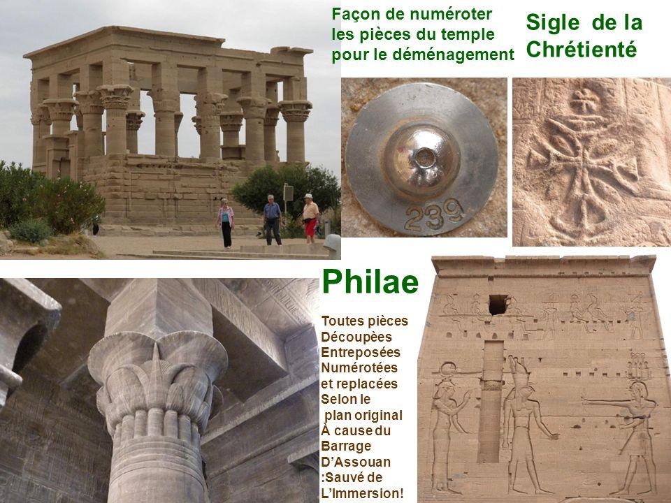 Philae Sigle de la Chrétienté Façon de numéroter