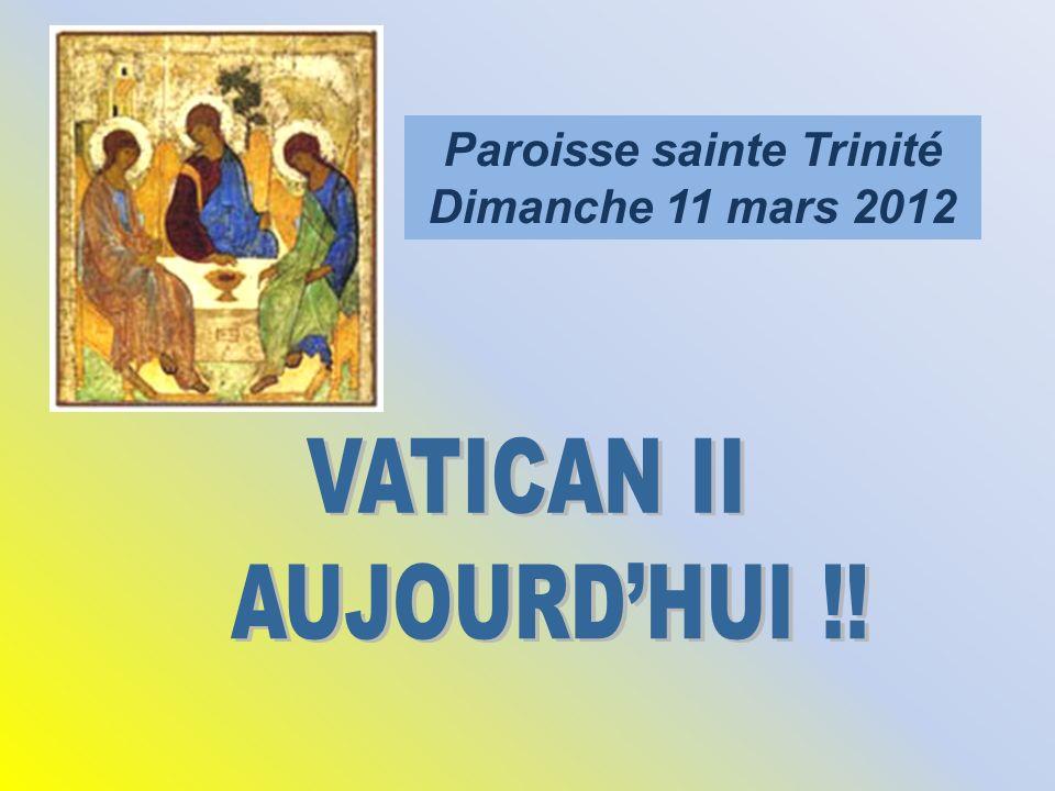 Paroisse sainte Trinité