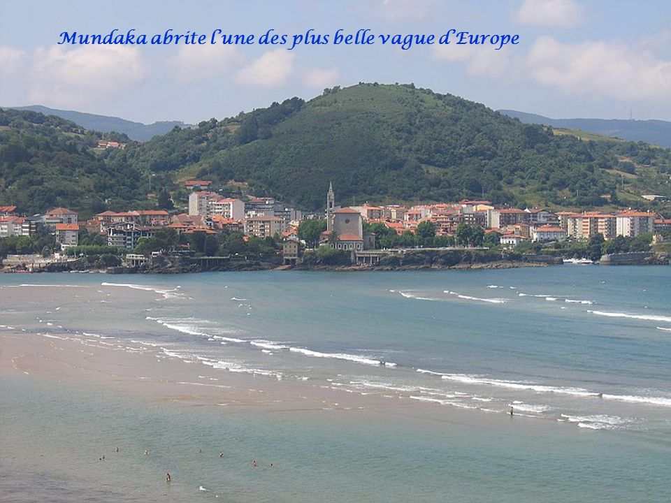 Mundaka abrite l'une des plus belle vague d'Europe