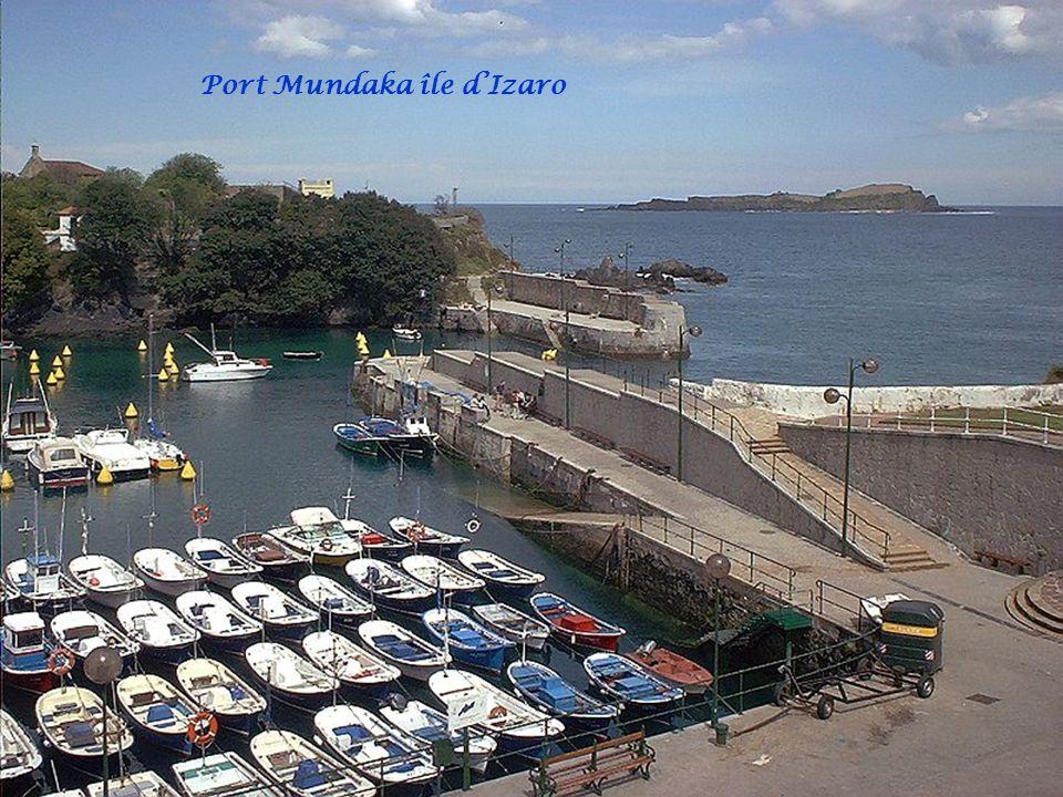 Port Mundaka île d'Izaro