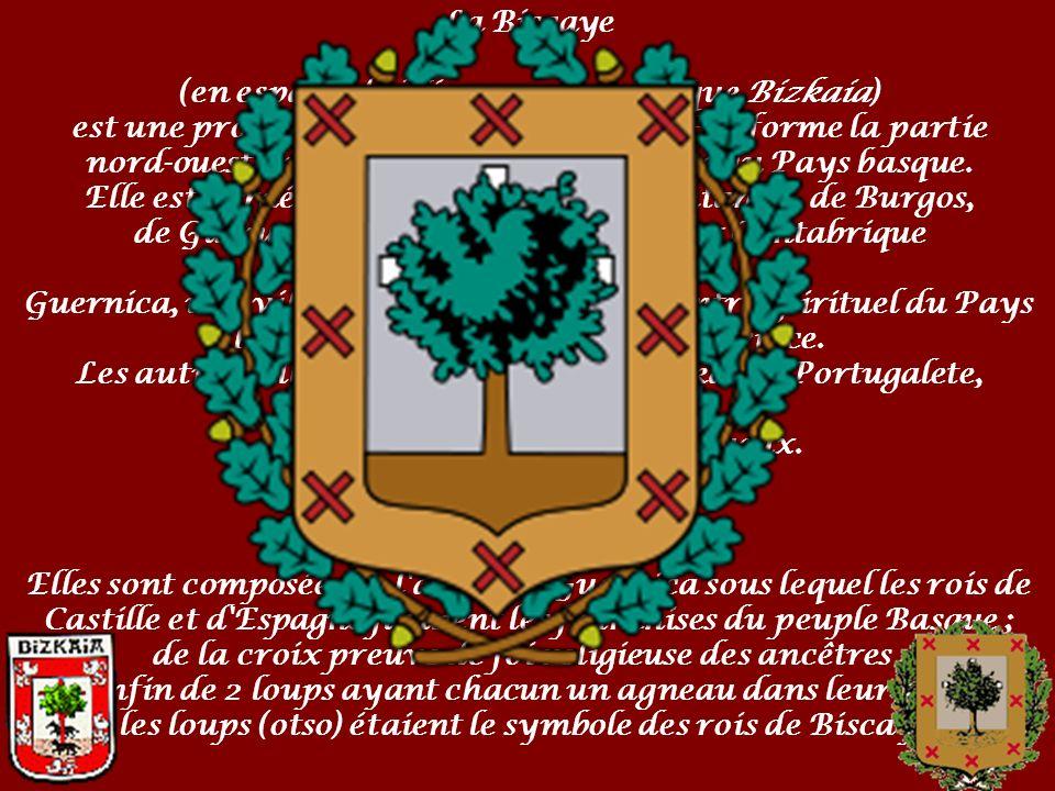 (en espagnol : Vizcaya, et en basque Bizkaia)
