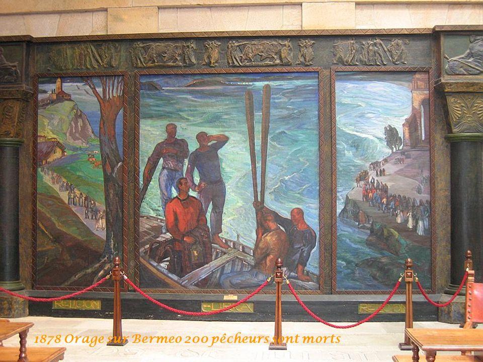 1878 Orage sur Bermeo 200 pêcheurs sont morts