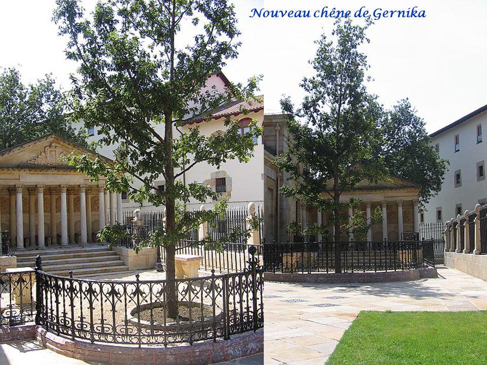 Nouveau chêne de Gernika