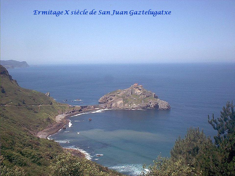 Ermitage X siècle de San Juan Gaztelugatxe
