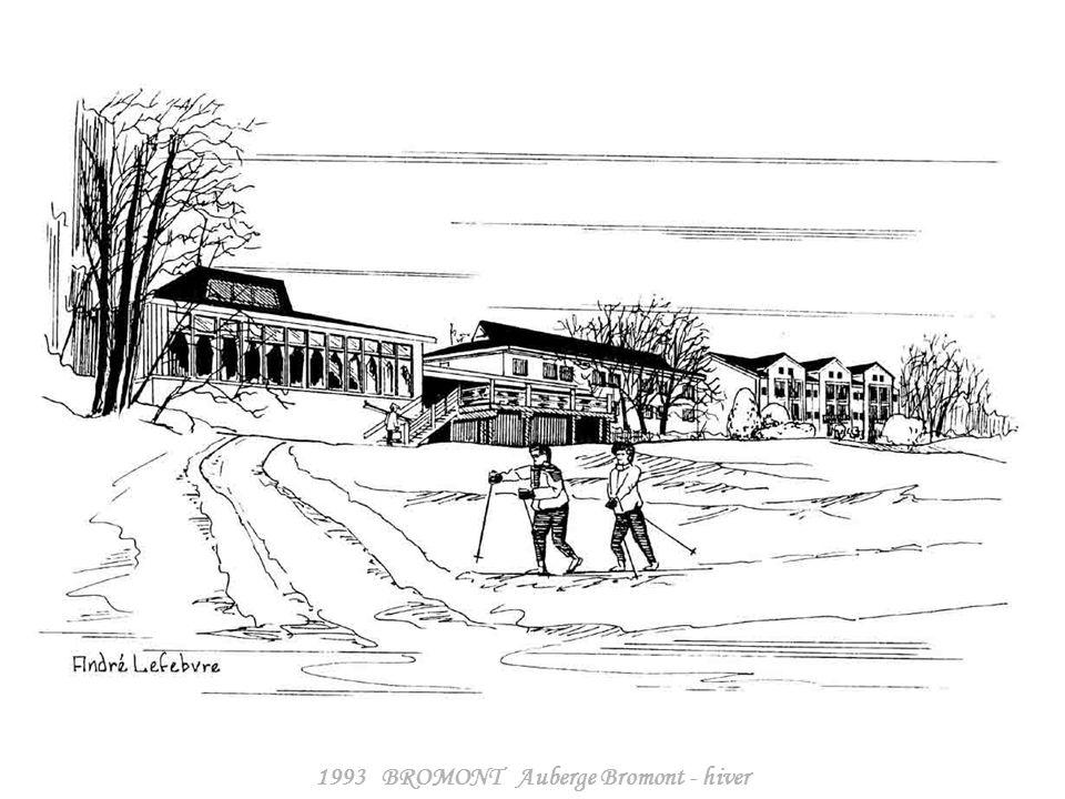 1993 BROMONT Auberge Bromont - hiver