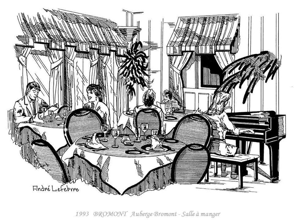 1993 BROMONT Auberge Bromont - Salle à manger