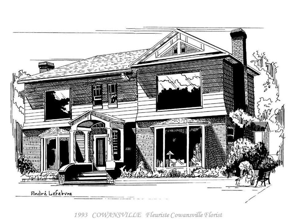 1993 COWANSVILLE Fleuriste Cowansville Florist