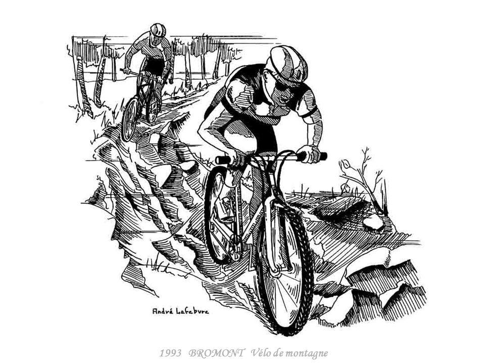 1993 BROMONT Vélo de montagne