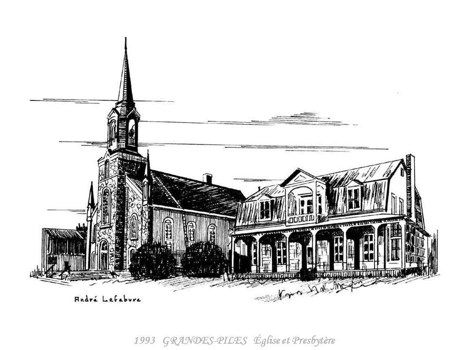 1993 GRANDES-PILES Église et Presbytère