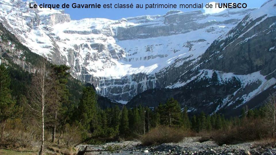 Le cirque de Gavarnie est classé au patrimoine mondial de l UNESCO