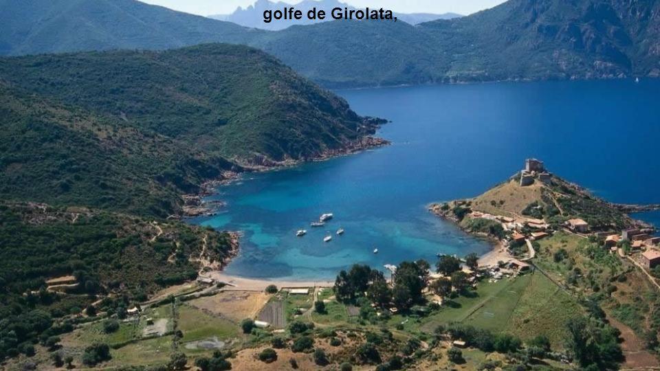 golfe de Girolata,